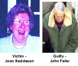 foto's van het slachtoffer en de verdachte