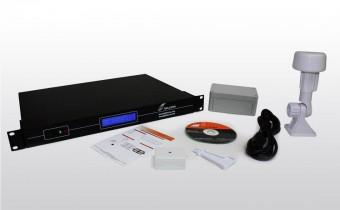 Wat is inbegrepen bij de NTS 6001 dual NTP-server