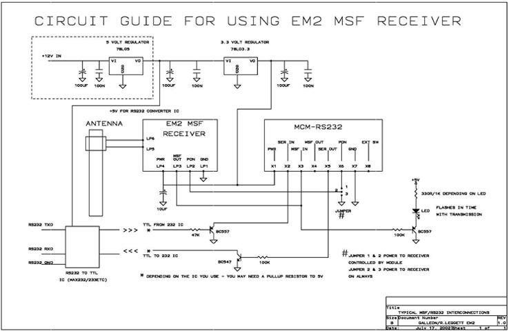 RS232 decoder