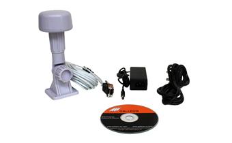 wat wordt geleverd met de AC-500-GPS-tijd-ontvanger